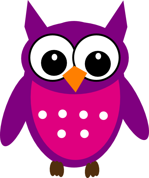 cute owl clip art free - Just Pixe