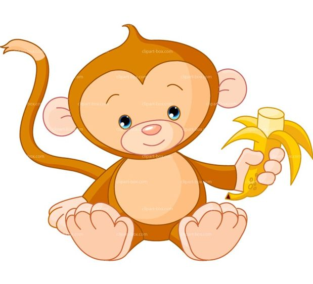 Cute Monkey Drawing - Cliparts.co