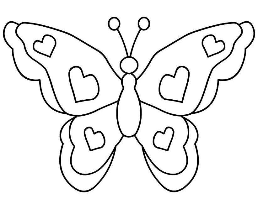 Black And White Butterfly Images - Cliparts.co