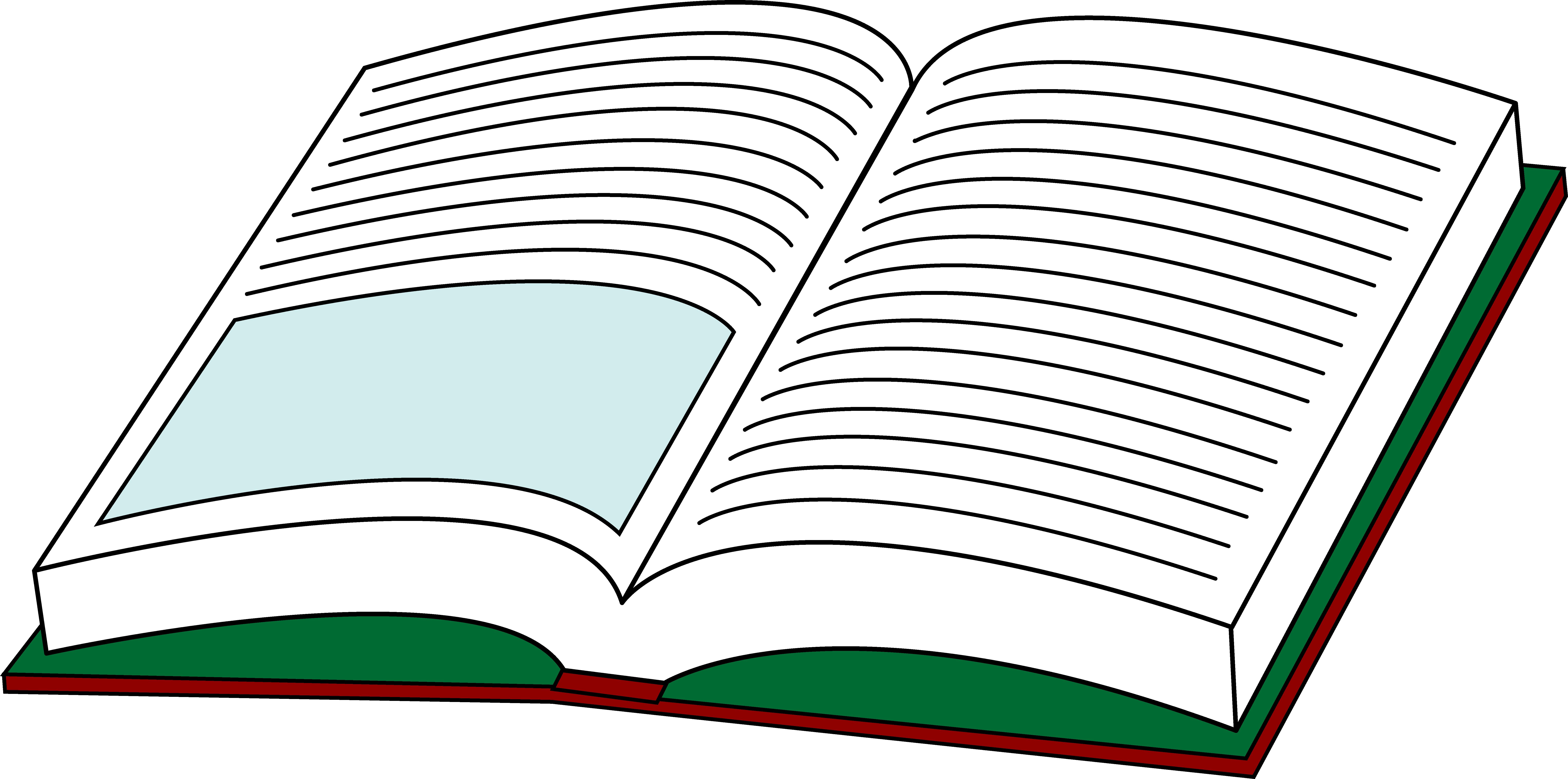 open book cartoon clipart - photo #33