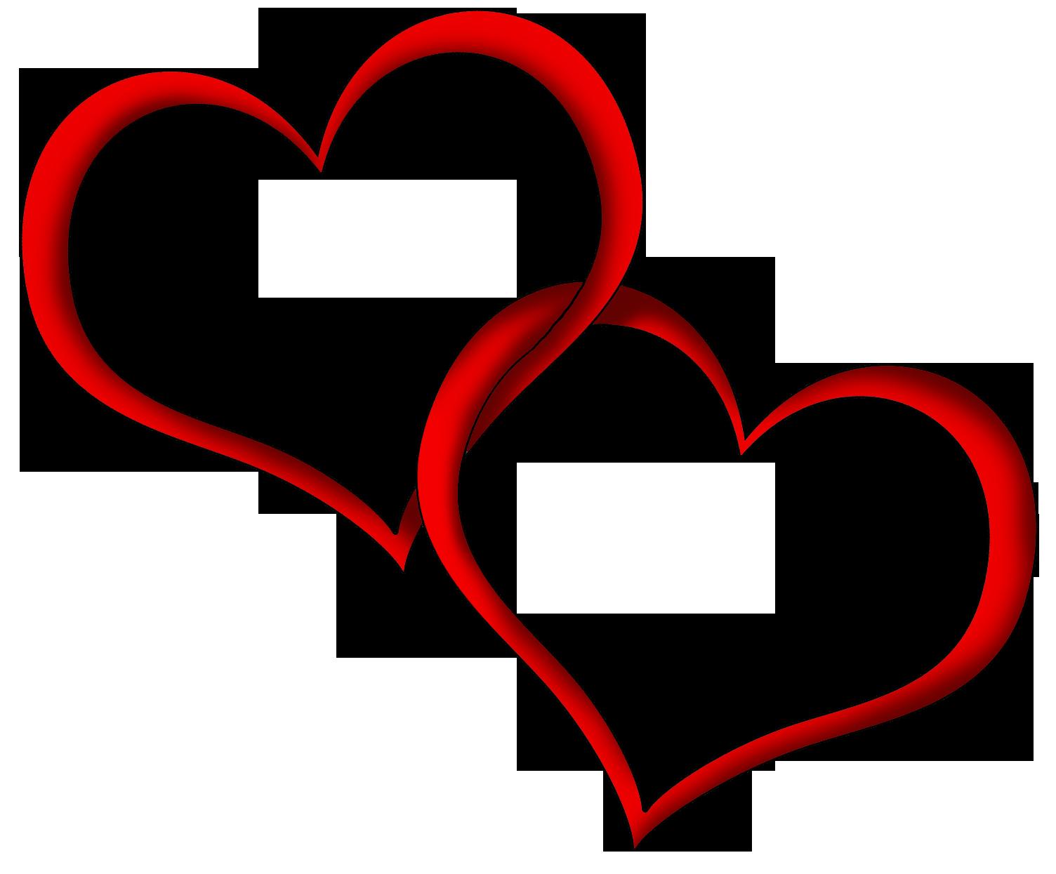 clip art double hearts free - photo #16
