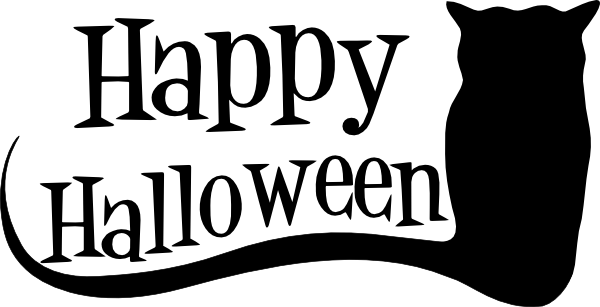 Halloween Clip Art Black And White - Cliparts.co