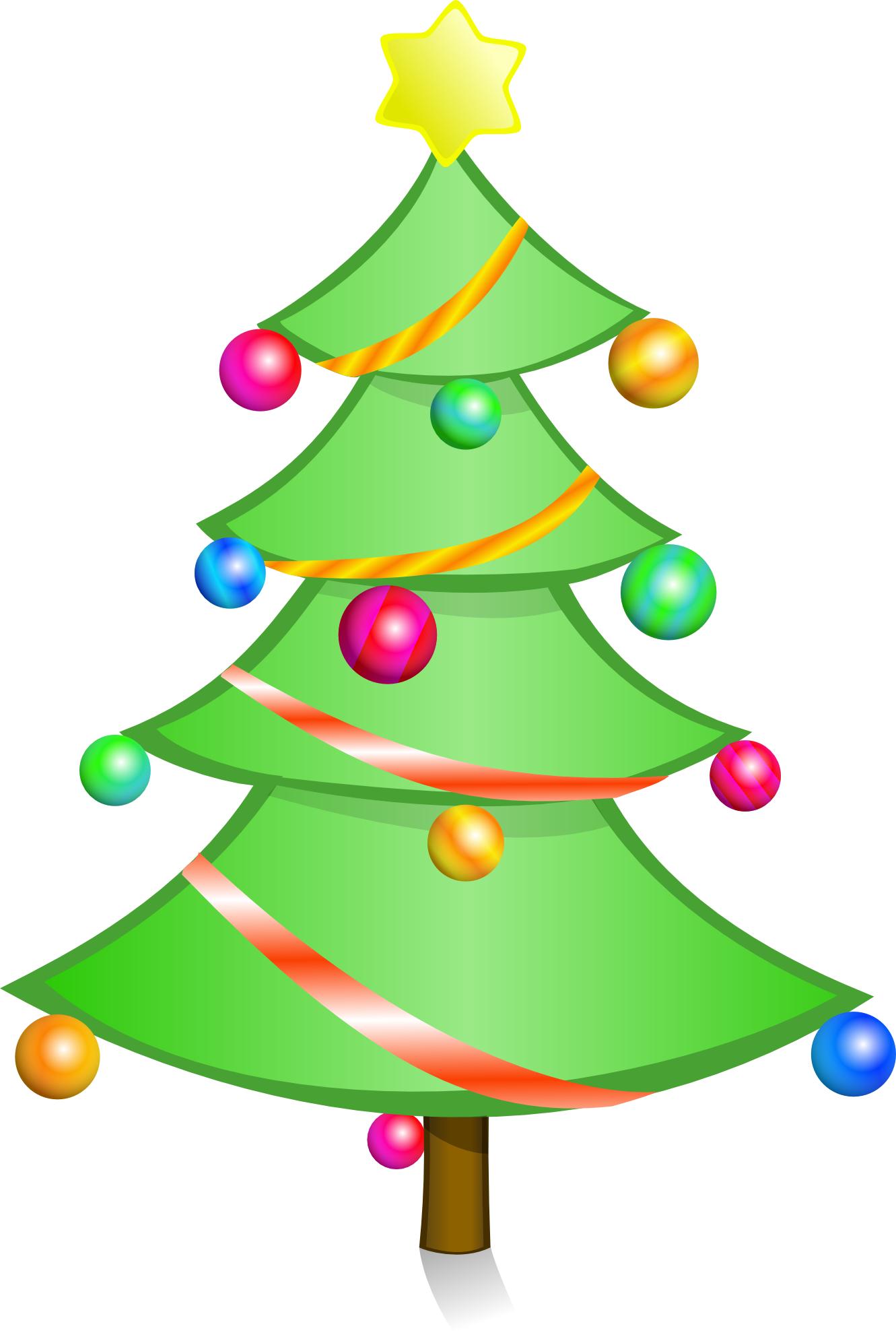 Christmas Tree Art - Cliparts.co