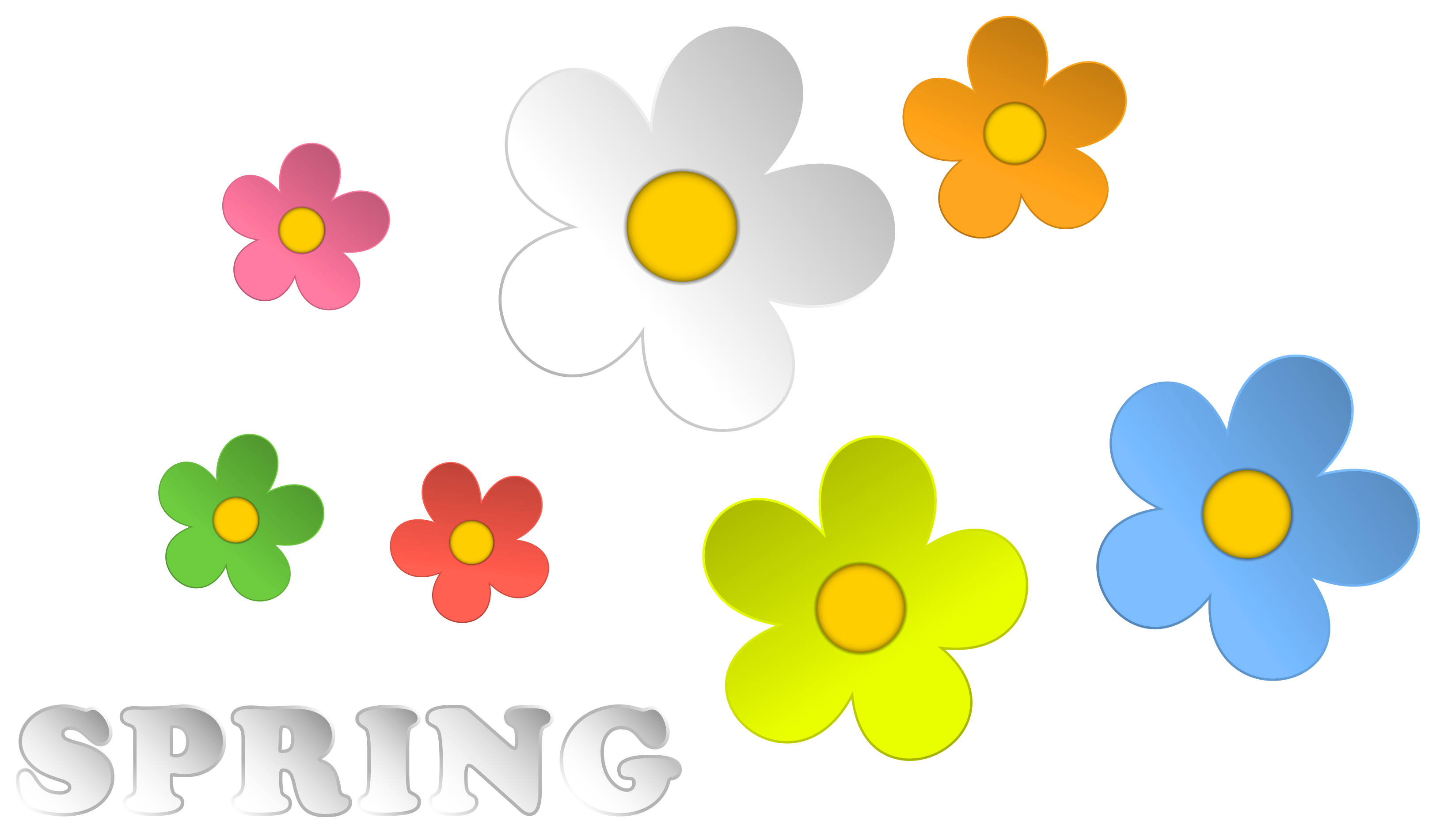 Clip Art Spring Flowers | Clipart Panda - Free Clipart Images