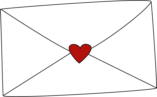 Valentine's Day Envelope Clip Art - Valentine's Day Envelope Image