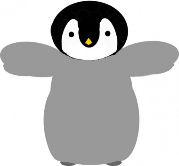 Penguin clip art Vector | Free Download