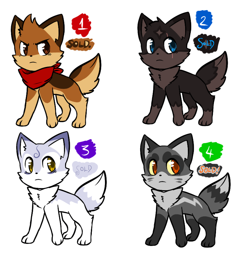 how to draw a chibi wolf pup