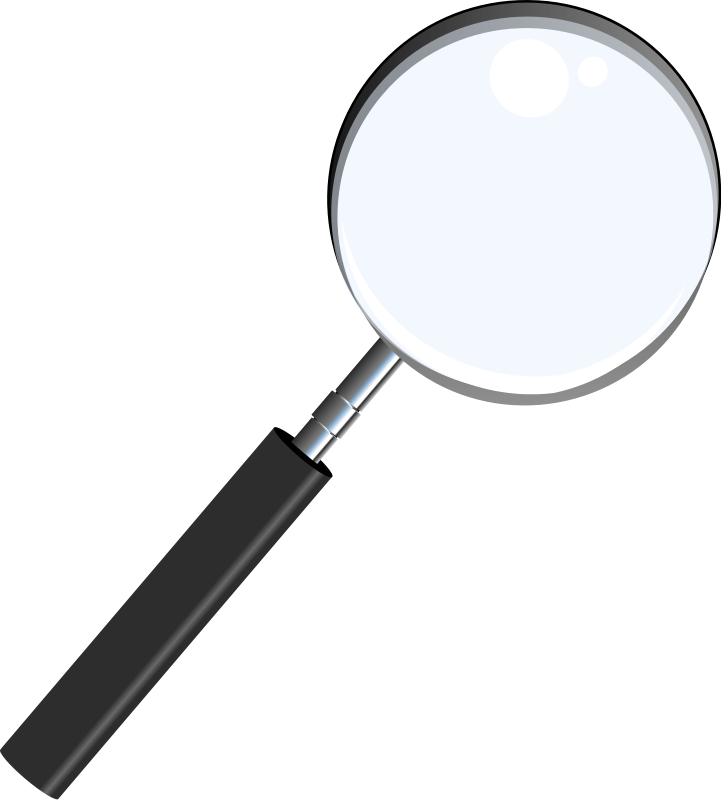 Free to Use & Public Domain Magnifying Glass Clip Art