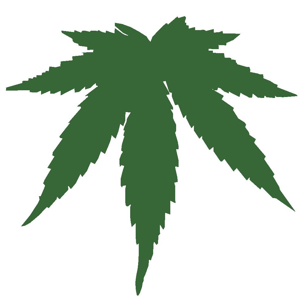 Marijuana Leaf Clip Art - Cliparts.co