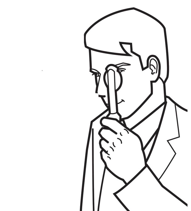 Doctor Day Coloring Pages : Eye Doctor Coloring For Kids Kids ...