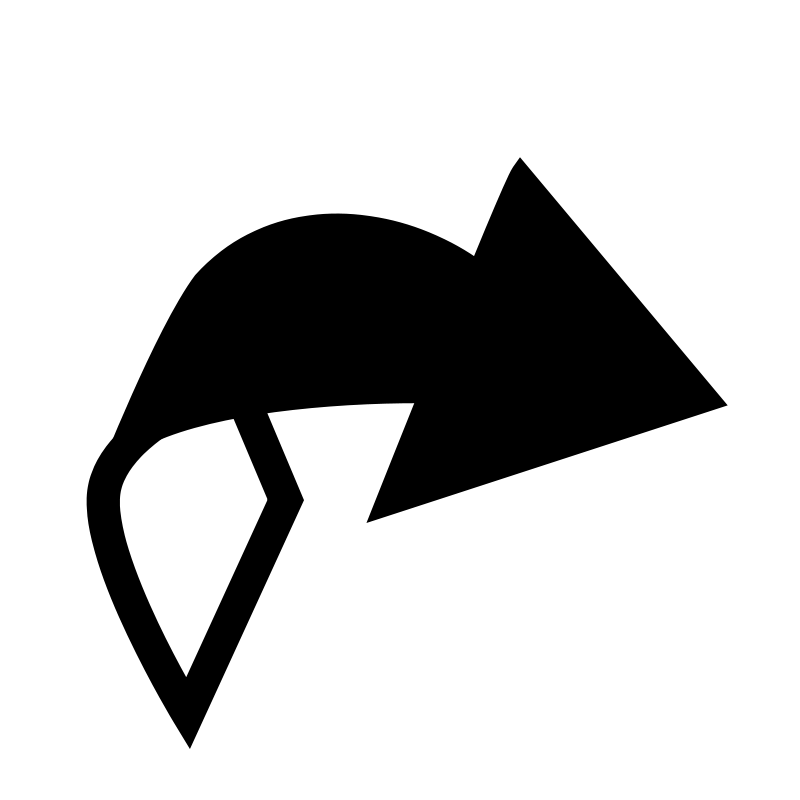 clipart arrow outline - photo #26