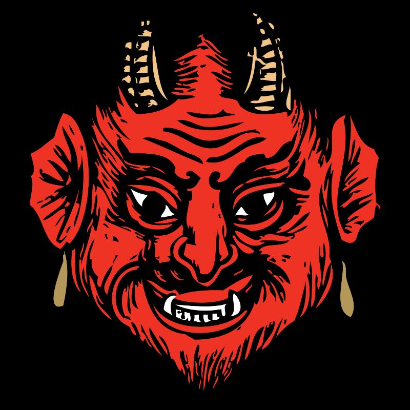 Clipart - devil head