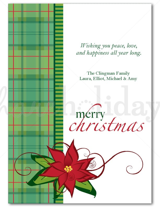 13. Poinsettia Border Clip Art   Cliparts.co. Christmas Card Samples  Cardcrazed  Christmas Greetings Sample