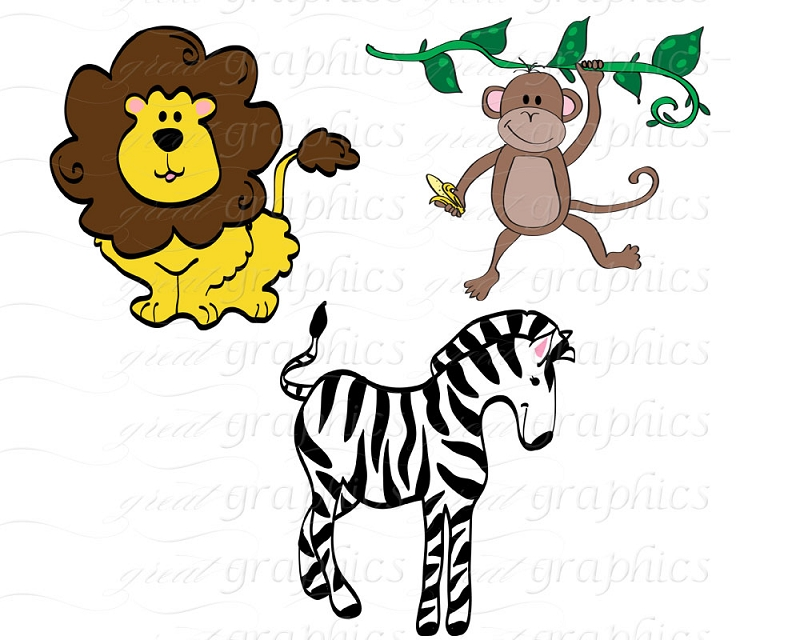 jungle baby clipart free - photo #15