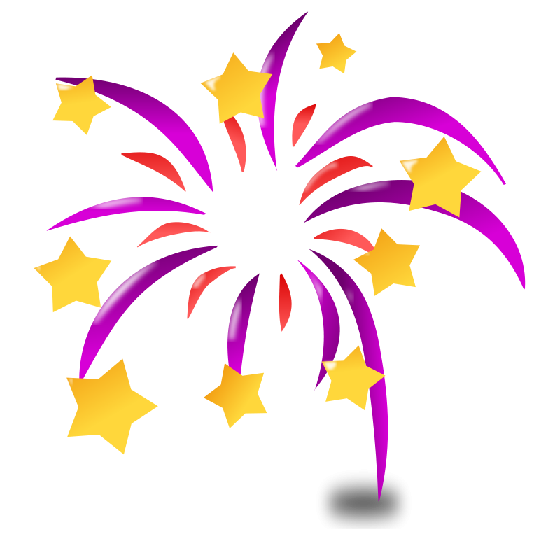 Fireworks Clipart Black And White | Clipart Panda - Free Clipart ...
