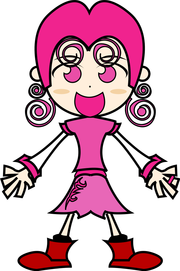 Pretty Girl Clipart - Cliparts.co