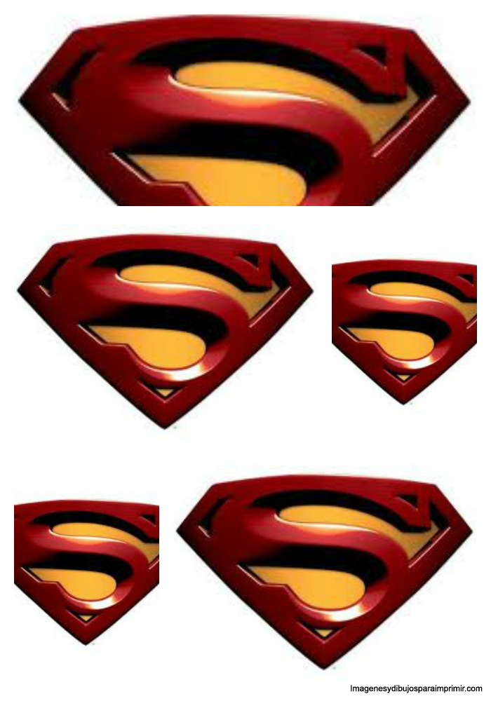 Superman Logo With Different Letters - Cliparts.co