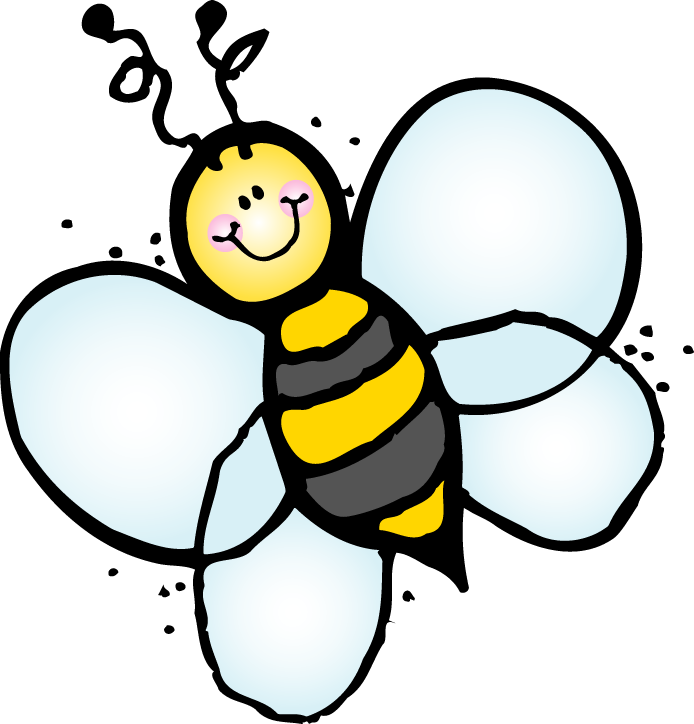 Cute Spelling Bee Clipart