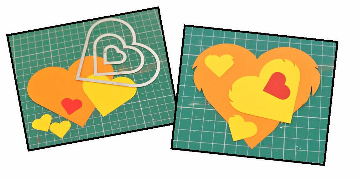 Crafting ideas from Sizzix UK: My Heart will go on....