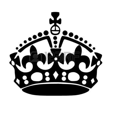 Keep Calm and Carry On Crown Clip art  queen crown png