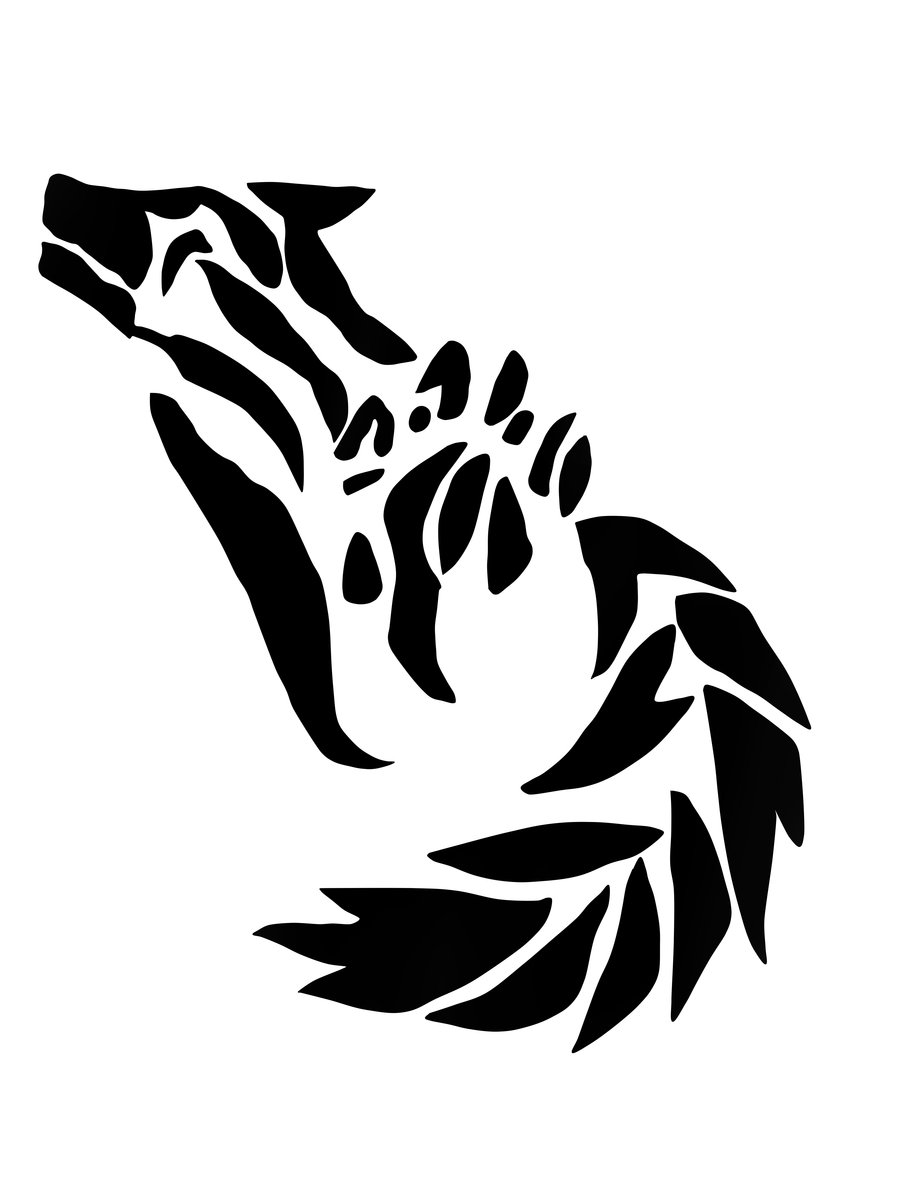 fd33617d6 Wolf Howl Paw Tattoo By Lbdlbdlbd9 On DeviantART - Cliparts.co