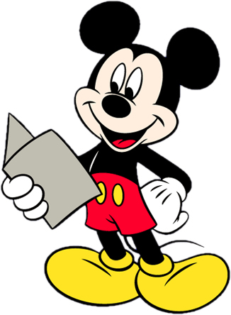 Disney's Mickey Mouse Clipart 20 --> Disney-
