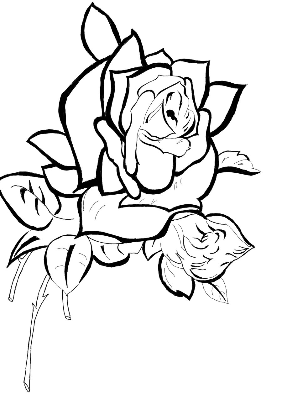 line of roses clipart - photo #7