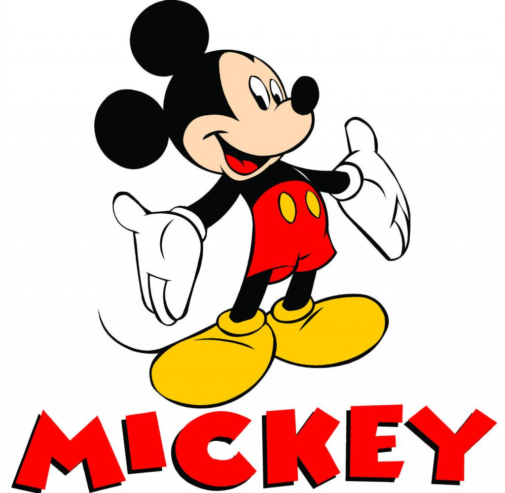 Mickey Mouse Face Clip Art Free