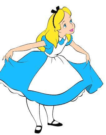 Alice In Wonderland Clip Art - ClipArt Best