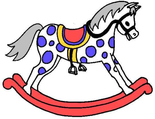 Rocking Horse Clip Art Cliparts Co