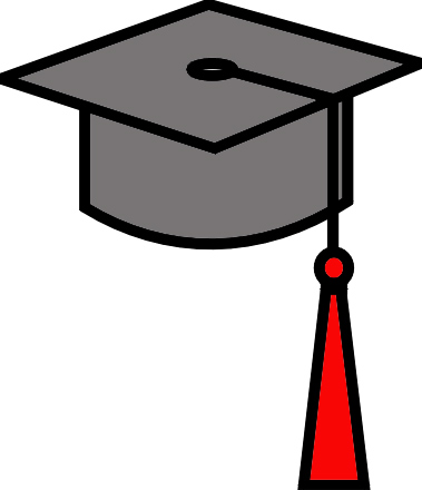 Images Of Clip Art Mortar Board Caps - Cliparts.co