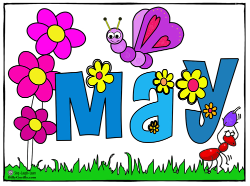 Calendar Clip Art May : Month of may clip art cliparts