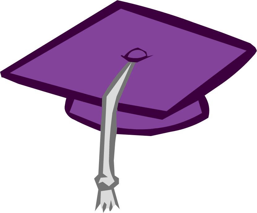 Image - Purple Graduation Cap.png - Club Penguin Wiki - The free ...