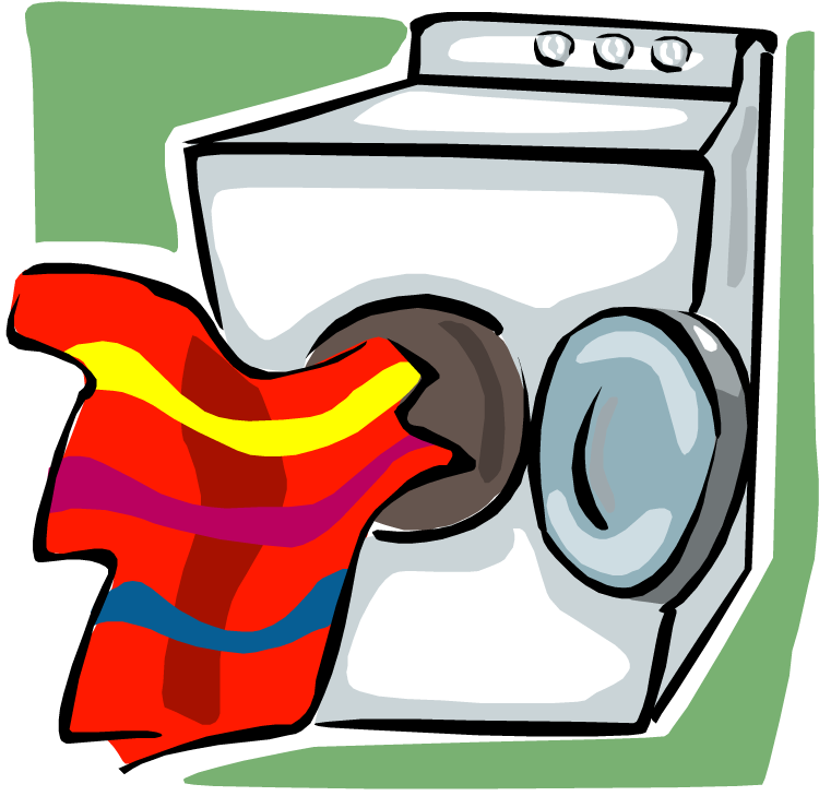 Clothes Dryer Clipart