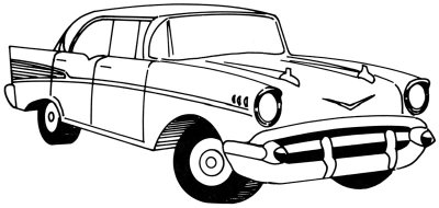 How to Draw a 1957 Chevy - HowStuffWorks