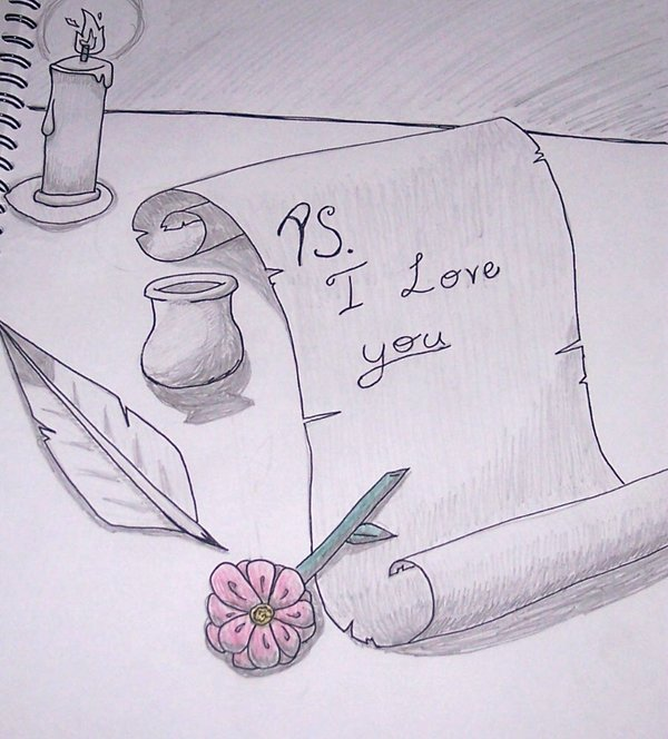 Картинки для срисовки про любовь —