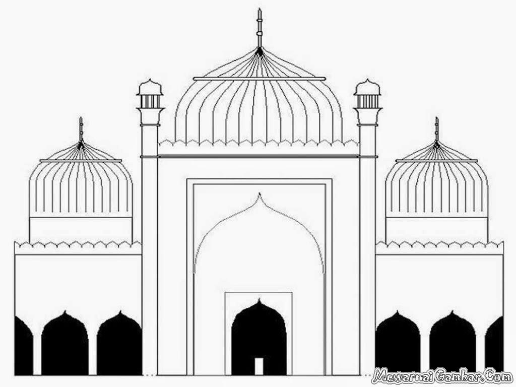 Animasi Masjid Cliparts