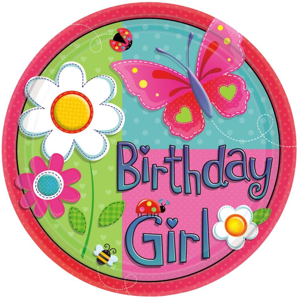 Birthday Girl Party supplies by Best Kids Party