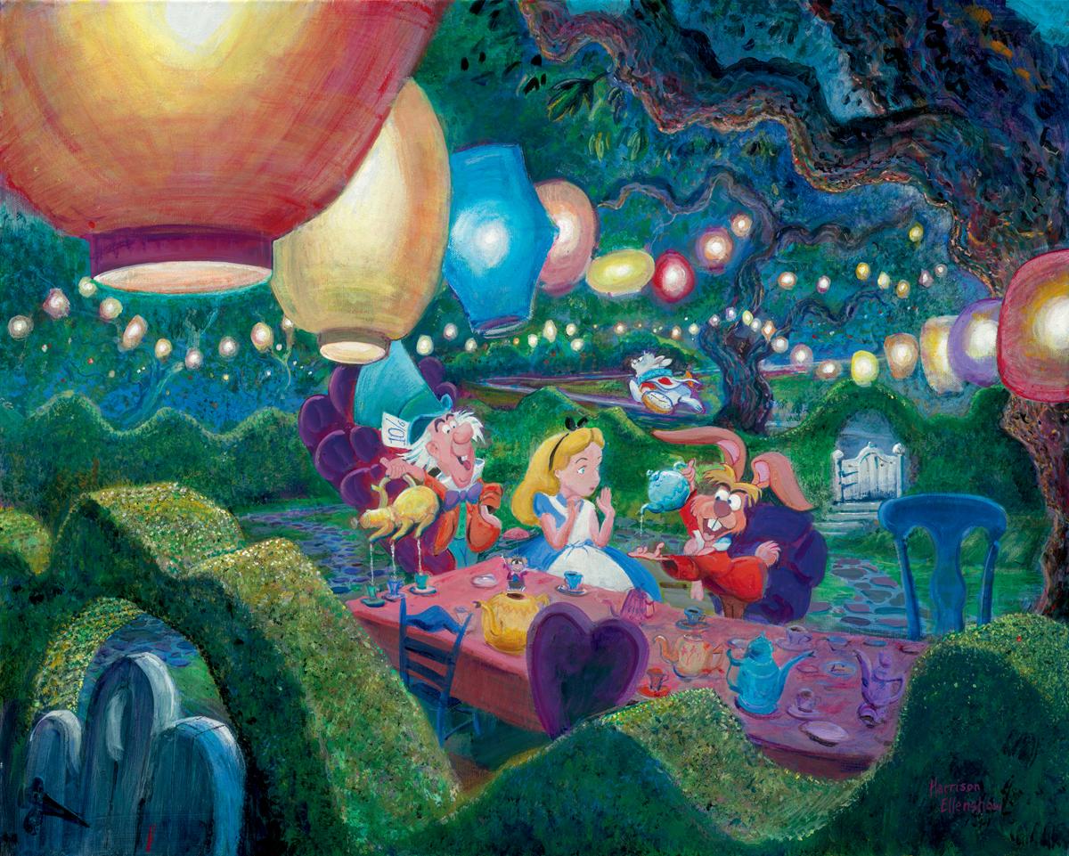 Alice in wonderland disney mad hatter tea party