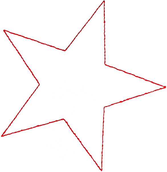 Small Star Outline - Cliparts.co