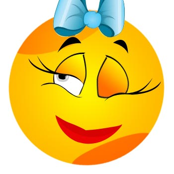Wink / Winking Smiley Face, Emoticon | Teach Feelings and Emotions ...