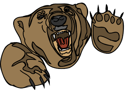 Angry Cartoon Bear Face Images & Pictures - Becuo