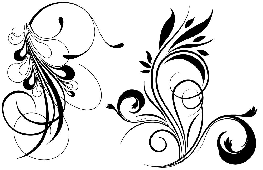 free vector clipart flourishes - photo #28