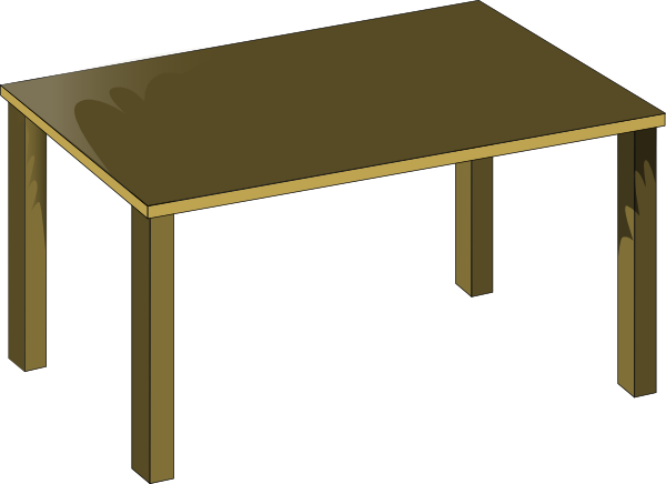 Dinner Table Clipart
