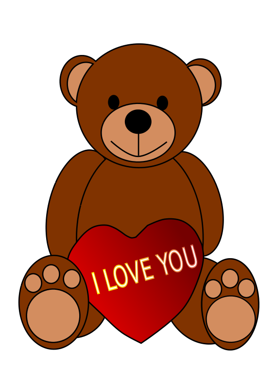 Free to Use & Public Domain Teddy Bear Clip Art