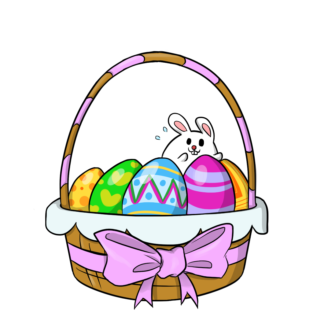 Free to Use & Public Domain Easter Baskets Clip Art