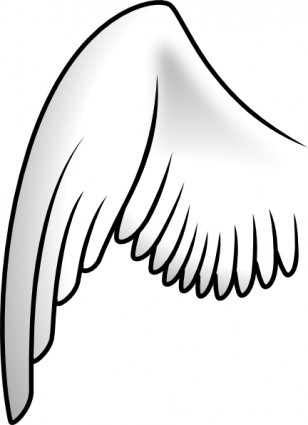 Wing clip art Vector clip art - Free vector for free download