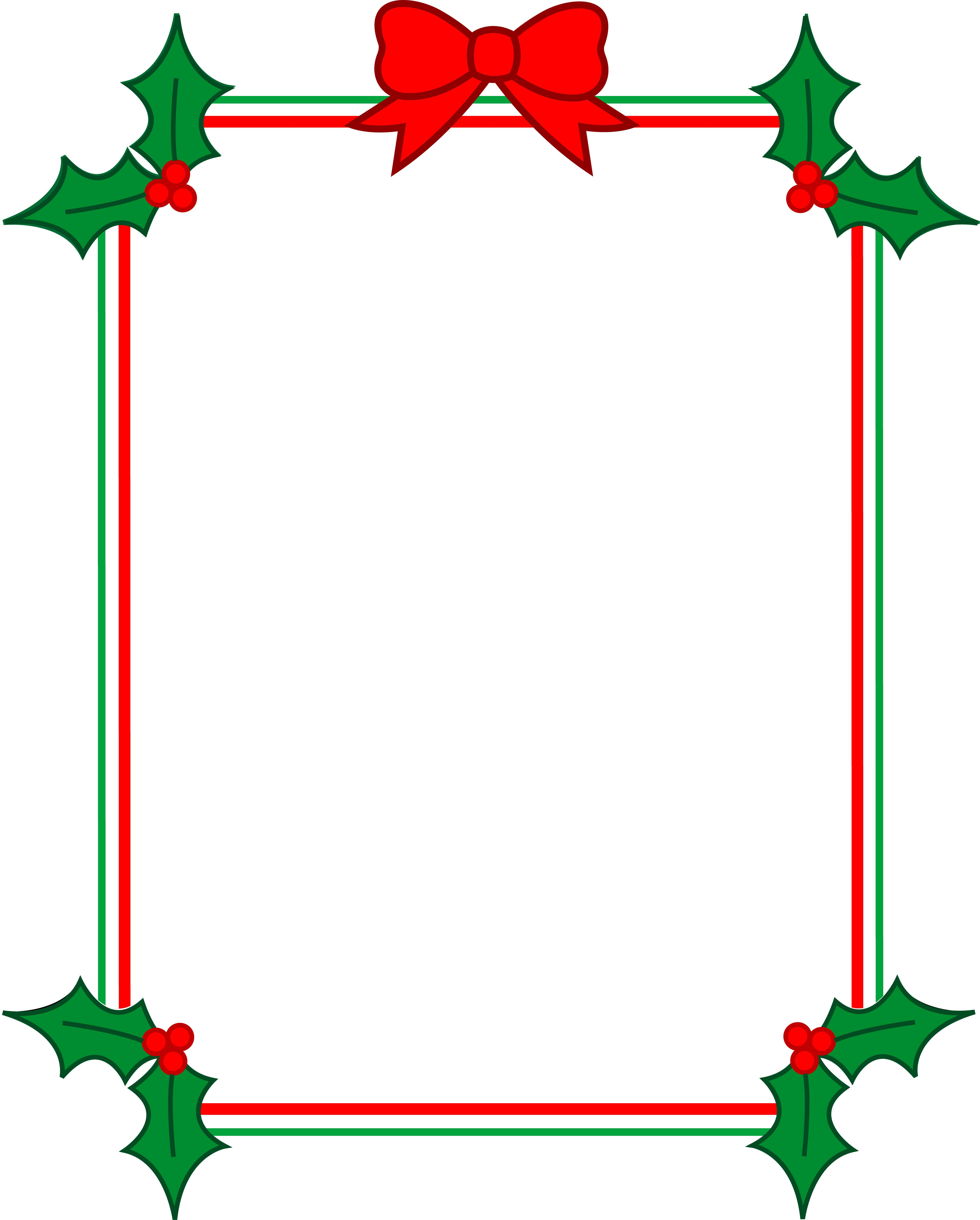 Christmas Border for Free Download