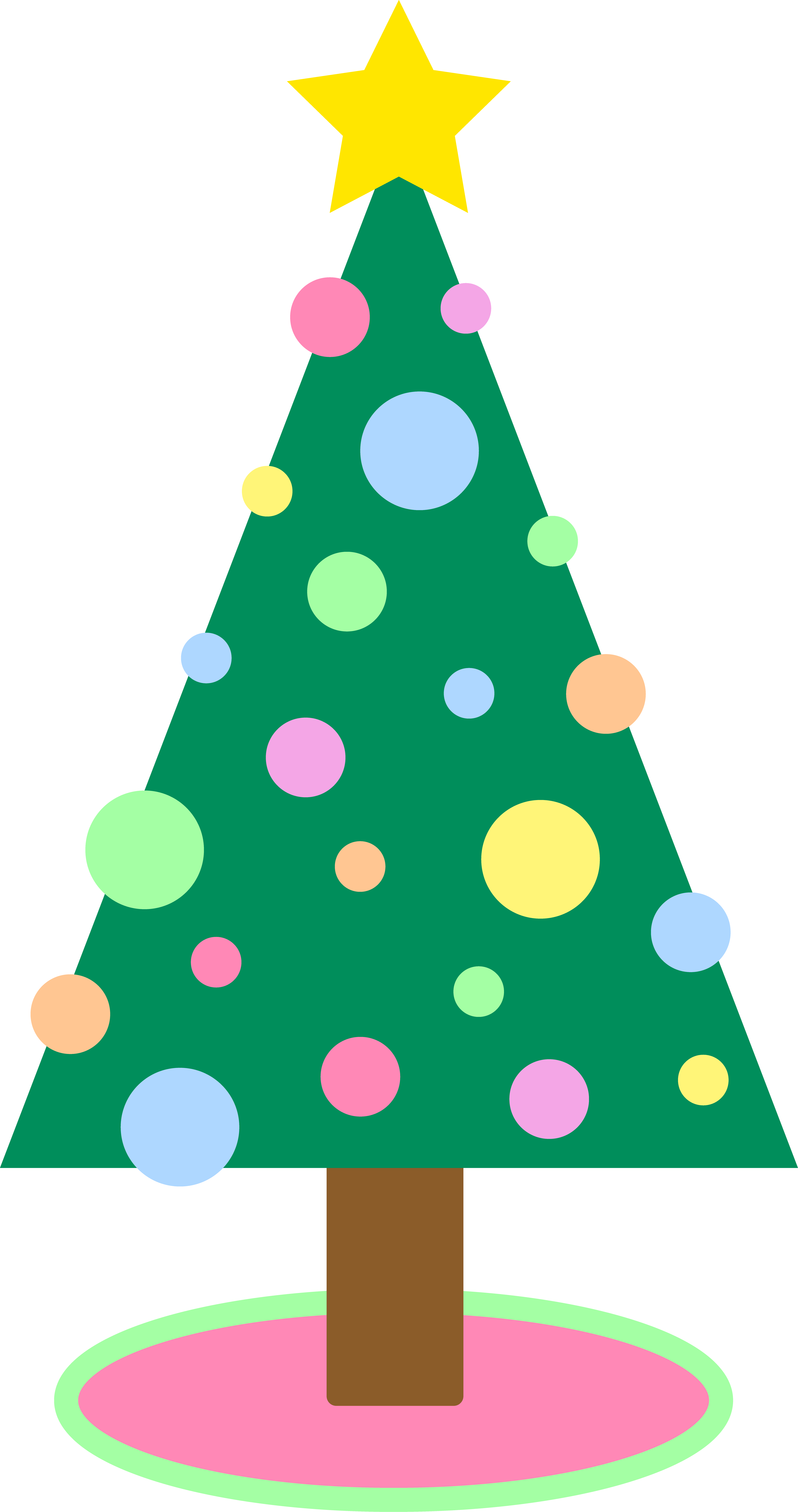 Simple Christmas Tree Clipart | Clipart Panda - Free Clipart Images