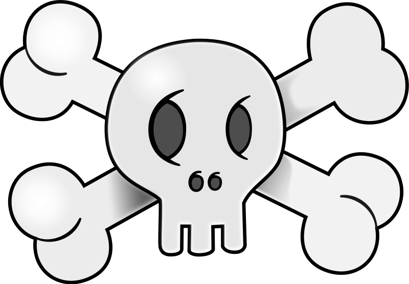 Free to Use & Public Domain Skull Clip Art